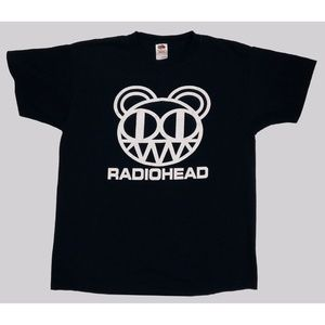Radiohead 'Kid A' Bear T-Shirt